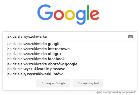 Jak działa wyszukiwarka Google?