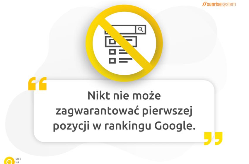 Ile trwa pozycjonowanie strony internetowej w Google?