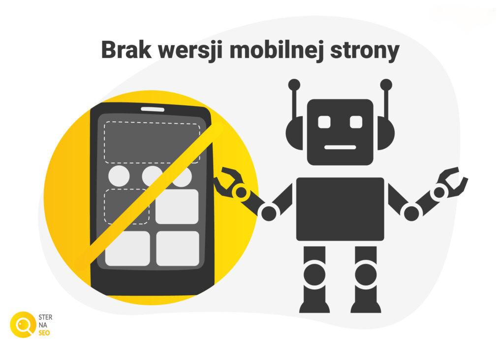 Brak wersji mobilnej strony